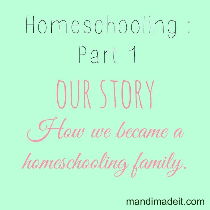 How we became a homeschooling family
