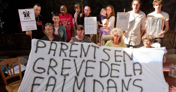 Garches : l'AP-HP fait évacuer des parents d'enfants cancéreux en grève de la faim