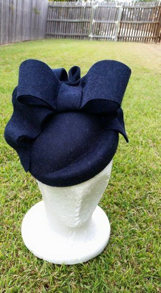 MACKENZIE   BY LEAH ROBINSON #millinery #hats #HatAcademy                                                                                                                                                                                 More