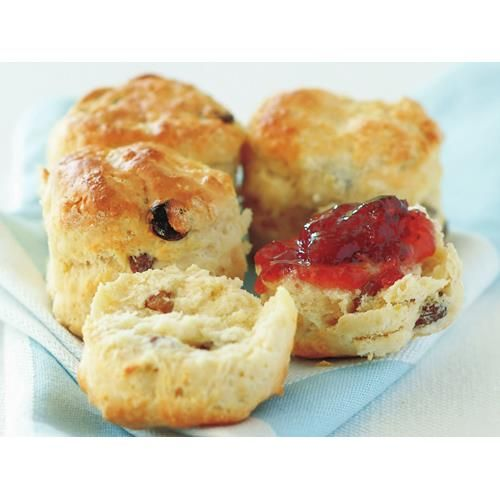 Sultana scones recipe - By Australian Women's Weekly, You can choose how crusty or how soft the sides of your scones are by adjusting how closely you place them on the baking sheet. If you like your sultana scones to be crusty all over, space them widely.
