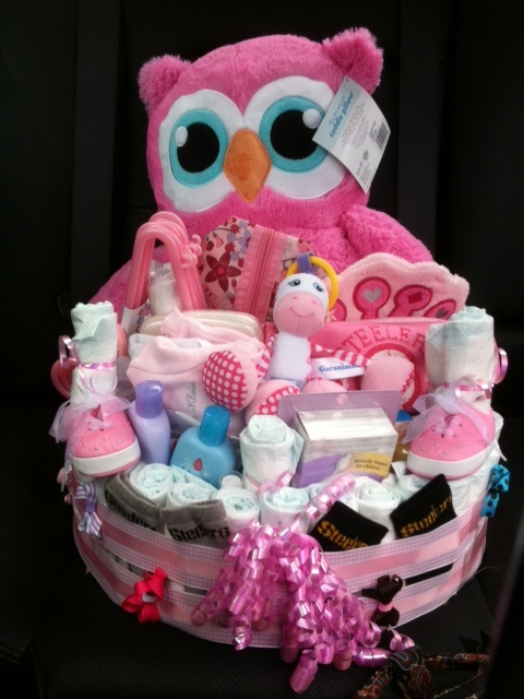 Millie S Diaper Basket With Images Baby Shower Gift