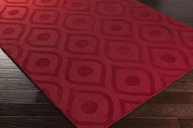 Red Area Rugs On Sale