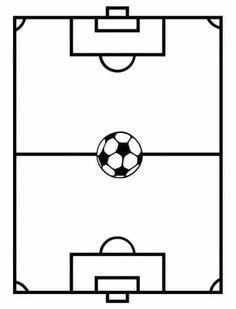 imagenes de un campo de futbol para colorear | Abstracto