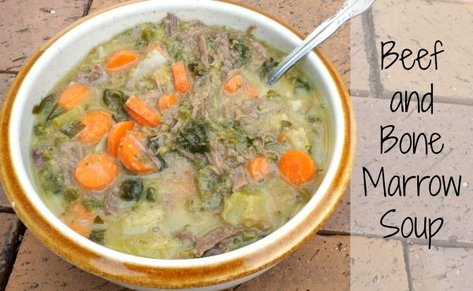 Bone marrow soup may sound weird, but this rich soup is incredibly tasty and satisfying while being nutrient dense and incredibly healing.