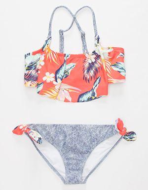 BILLABONG Aloya Yo Flounce Girls Bikini Set Multi