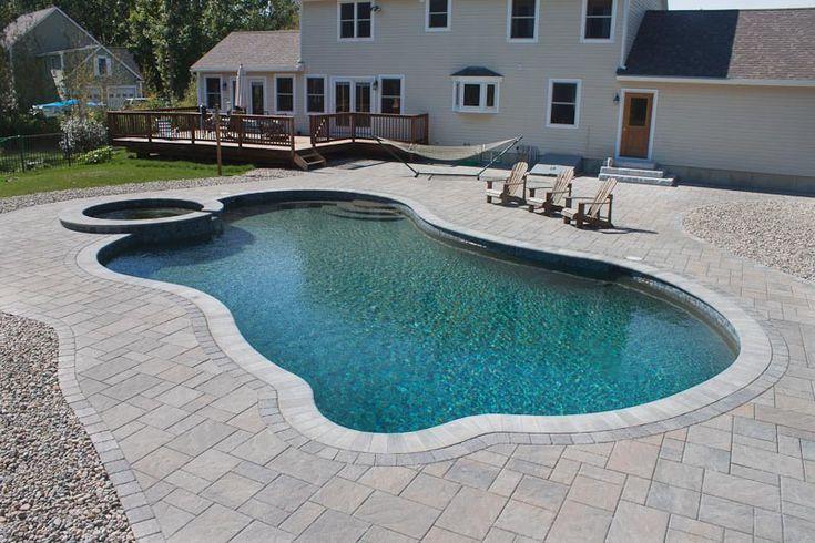 Gunite Pools Gallery Northern Pool Spa Me Nh Ma Gunite Pool Pool Pool Designs