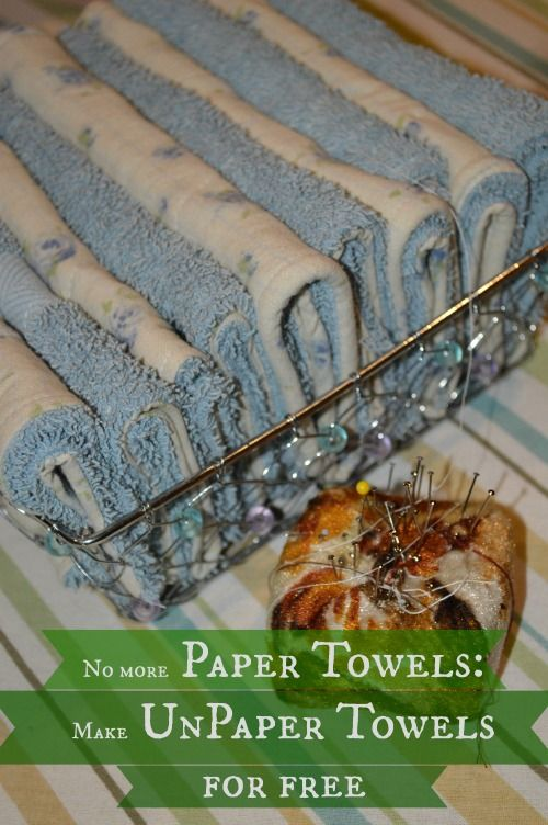 Ditch Your Paper Towels: Make Unpaper Towels for Free and $ave $100 -- Joybilee Farm