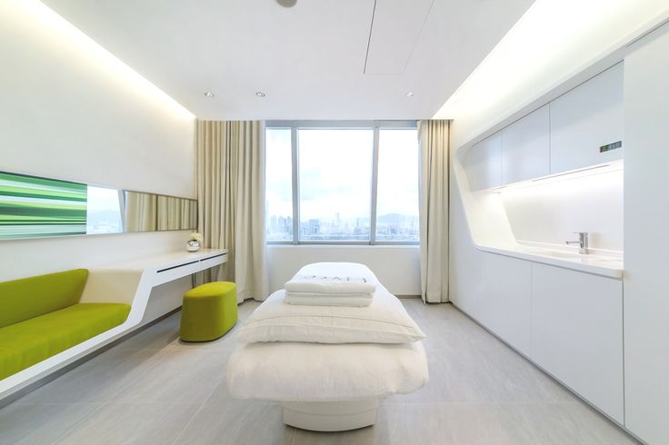 Green Office Inspiration: Where Line meets Lime! Treatment room