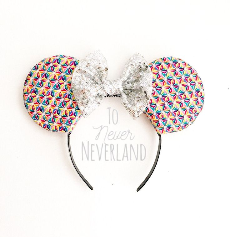 A personal favorite from my Etsy shop https://www.etsy.com/listing/516693385/epcot-ears-spaceship-earth-mickey-ears