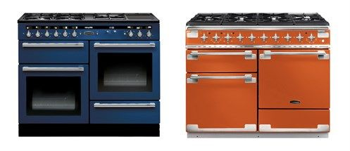 Here at Rangemaster we have a range cooker in a colour to suit every taste and kitchen design. Pictured here our Elise in Orange, for those who like a bold statement, alongside our Hi-LITE in Monaco Blue, for a more toned down, sophisticated look. For a closer look at current trends, why not read our latest blog from Hayley Gilbert? #kitchencatwalk #LFW