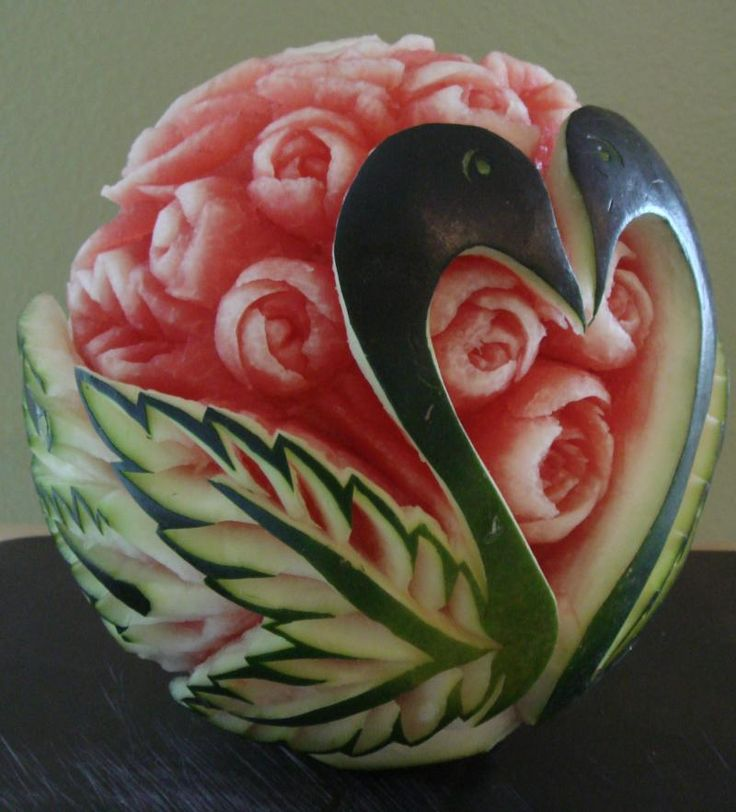 Best food carving images on pinterest vegetables