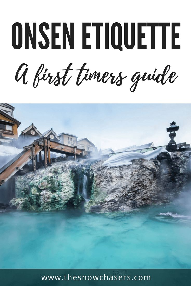 Japanese Onsen Etiquette: A First Timers Guide