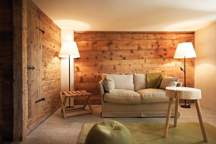 Cosy interiors in the Guarda Val hotel, Lenzerheide. http://www.powderbyrne.com/ski/lenzerheide/guarda-val