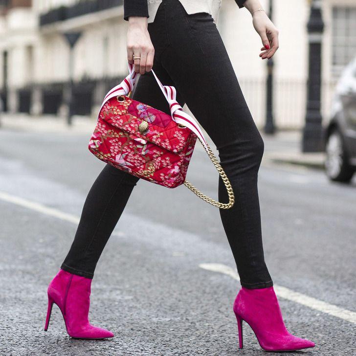 Fabric Kensington Bag Multi-coloured Shoulder Bag By Kurt Geiger London | Kurt Geiger
