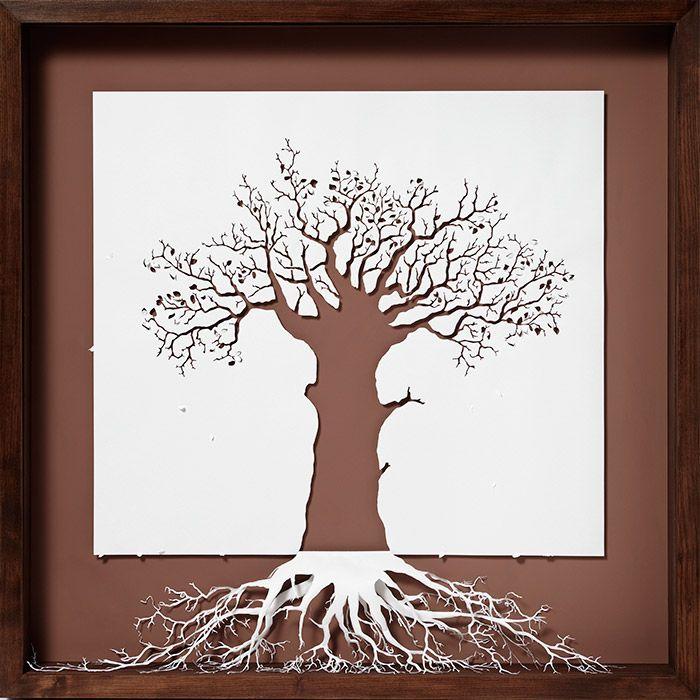 Amazing papercraft by Peter Callesen - http://bestcreativecrafts.com/papercraft-inspiration-peter-callesen/