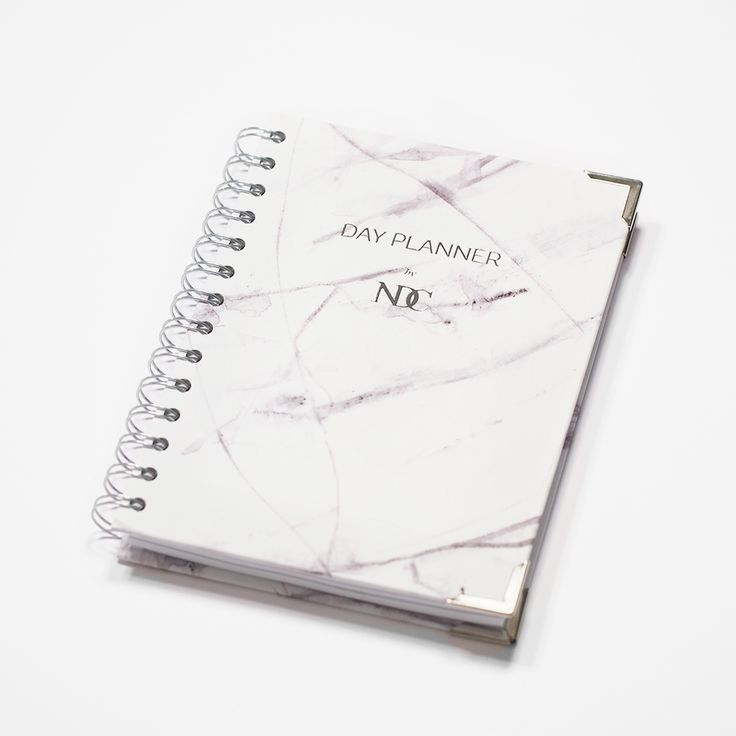 2015 Day Planner by NDC - Marmori from Nunuco Design Company