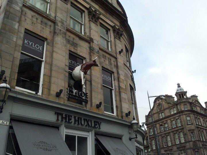 In Edinburgh's West End, Kyloe Grill & Restaurant is winner of UK's Best Roast Dinner. Below, The Huxley is home of the hotdog and more.