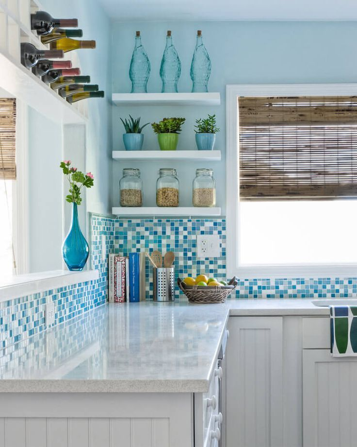 Coastal Kitchens Great Beach Theme Decorating Ideas For Your