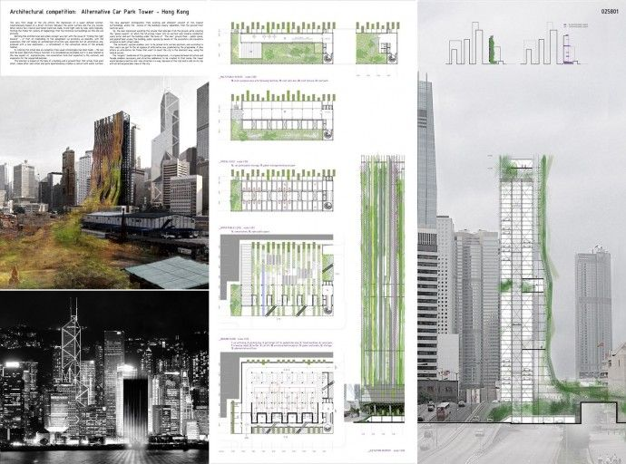 Architectural Drawings Of Skyscrapers 13 best winners - hong kong arcology skyscraper images on