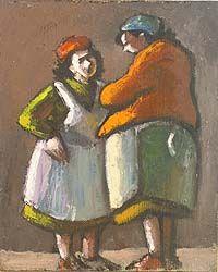 norman cornish paintings | Norman Cornish. Courtesy Northumbria University