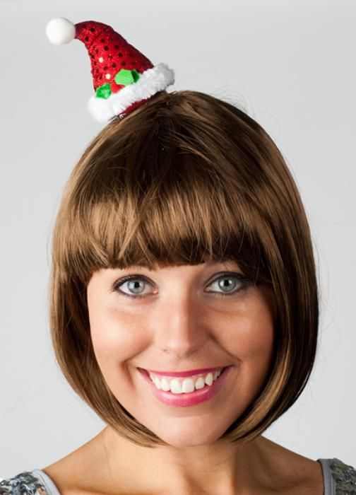 Very small cute santa hat - Las Fiestas
