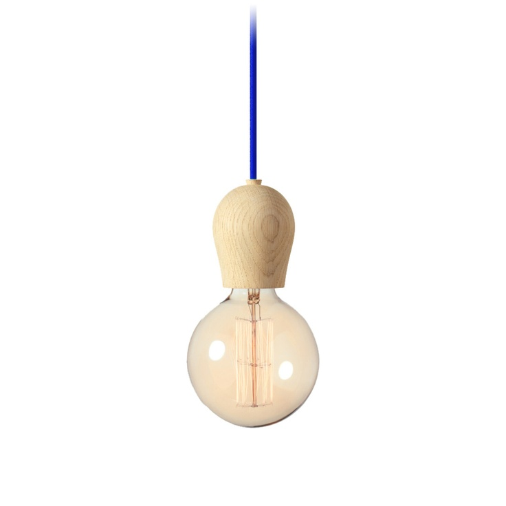 Bright Sprout wooden light.