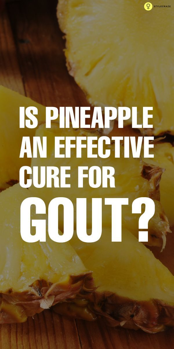 Is Pineapple An Effective Cure For Gout?