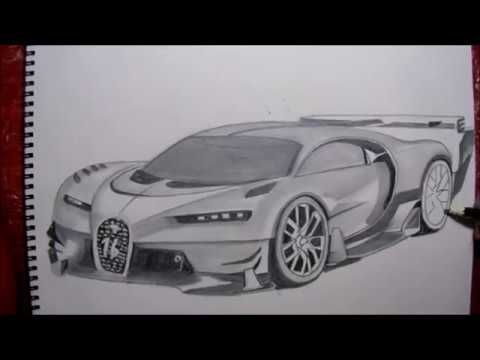 drawing the bugatti chiron gran turismo dibujando el bugatti chiron gran youtube pinterest. Black Bedroom Furniture Sets. Home Design Ideas