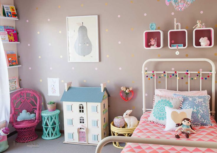 Fit for a princess! By Petite Vintage Interiors | 10 Gorgeous Girls Rooms Pt 3 ~ Tinyme Blog