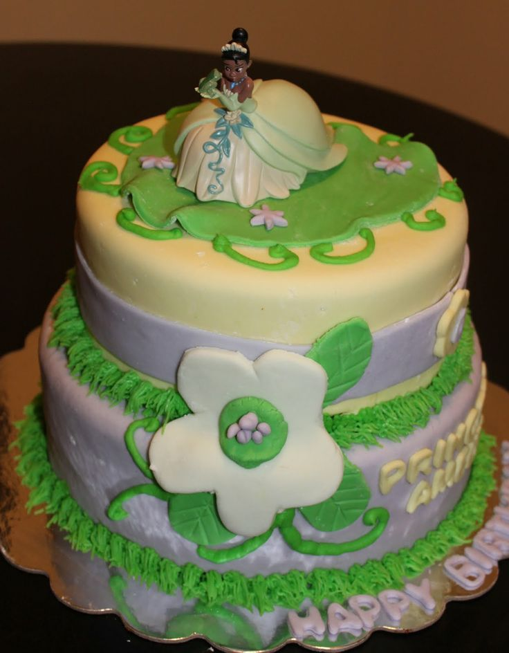 Cakes By Christi Princess And The Frog Cake Mary Ryan