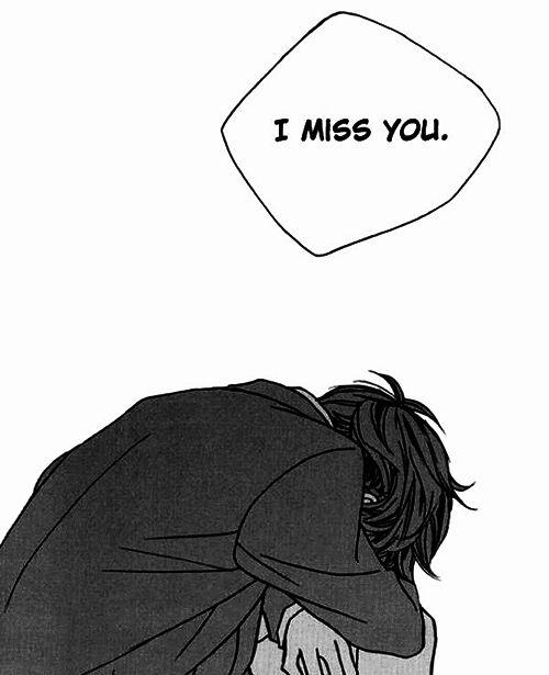 Monochrome Manga Boy