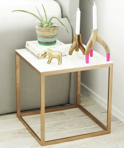 17 best ideas about ikea hack nightstand on pinterest - Mesa auxiliar malm ...