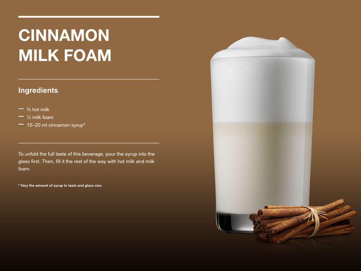 Cinnamon Milk Foam