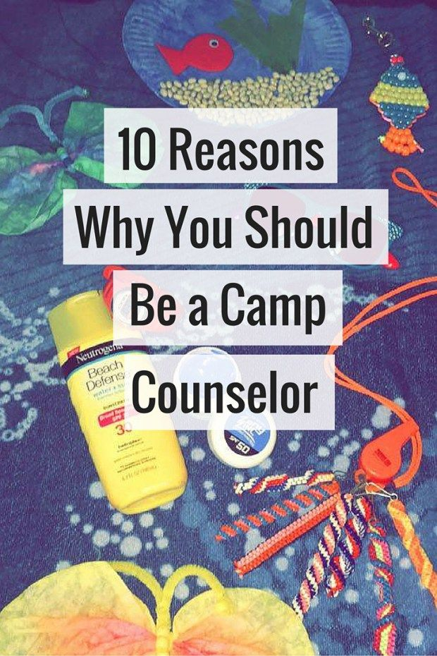 I've been a camp counselor for several years now, find out why you should considering being one too!