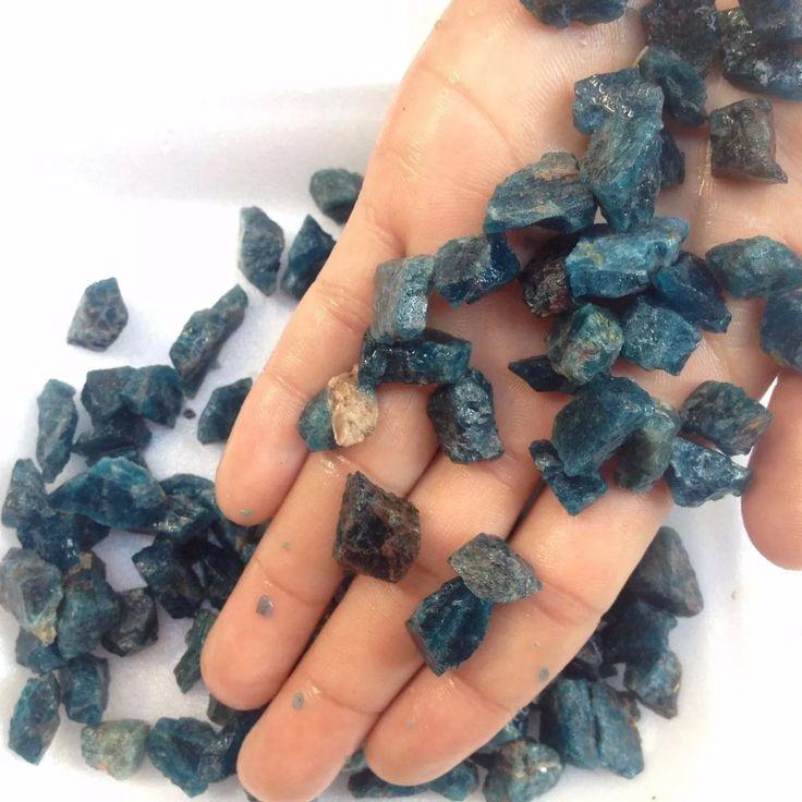 frete grátis 100g 40-60pcs apatitas pedras naturais brutas