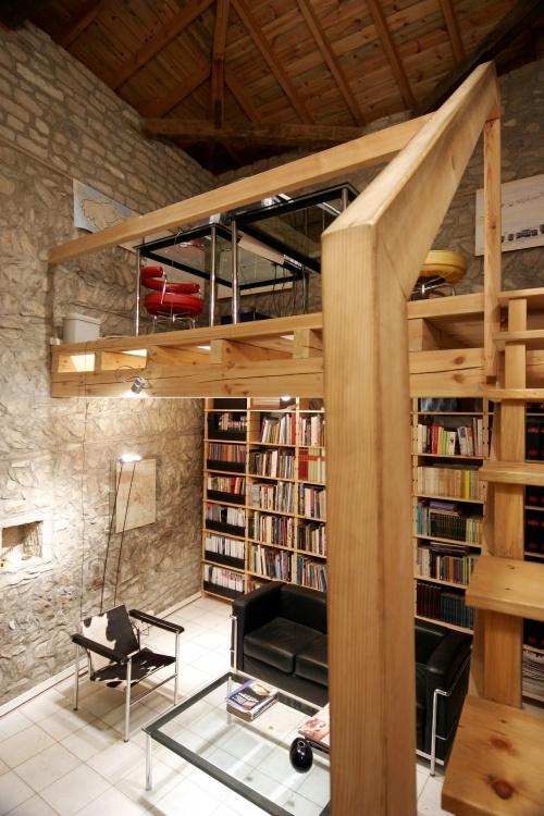 Mezzanine - small library  Books