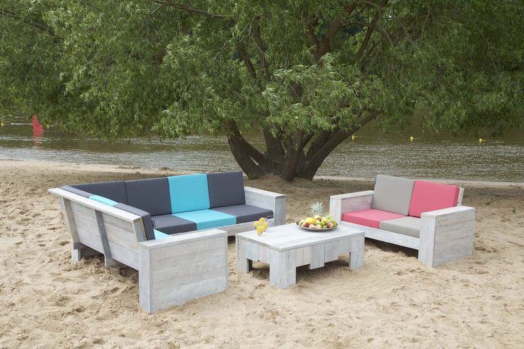 WITTEKIND Lounge 2er Sofa kombiniert mit dem großen Lounge Ecksofa.