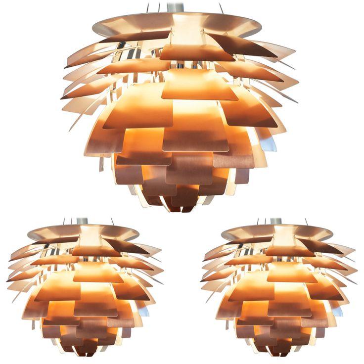 Poul Henningsen Copper Artichoke by Louis Poulsen