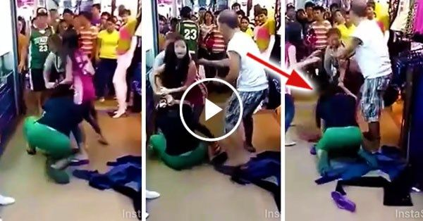 Wife sees her husband's mistress in public. What she did to the mistress was unbelievable! - http://inewser.com/wife-sees-husbands-mistress-public-mistress-unbelievable/