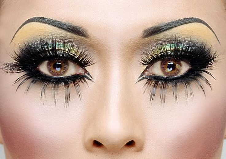 Fantasy Makeup, Costumes Makeup, Eye Makeup, Makeup Tricks, Eye Colors, Eyelashes, Dramatic Eye, Brown Eye, Brown Beautiful