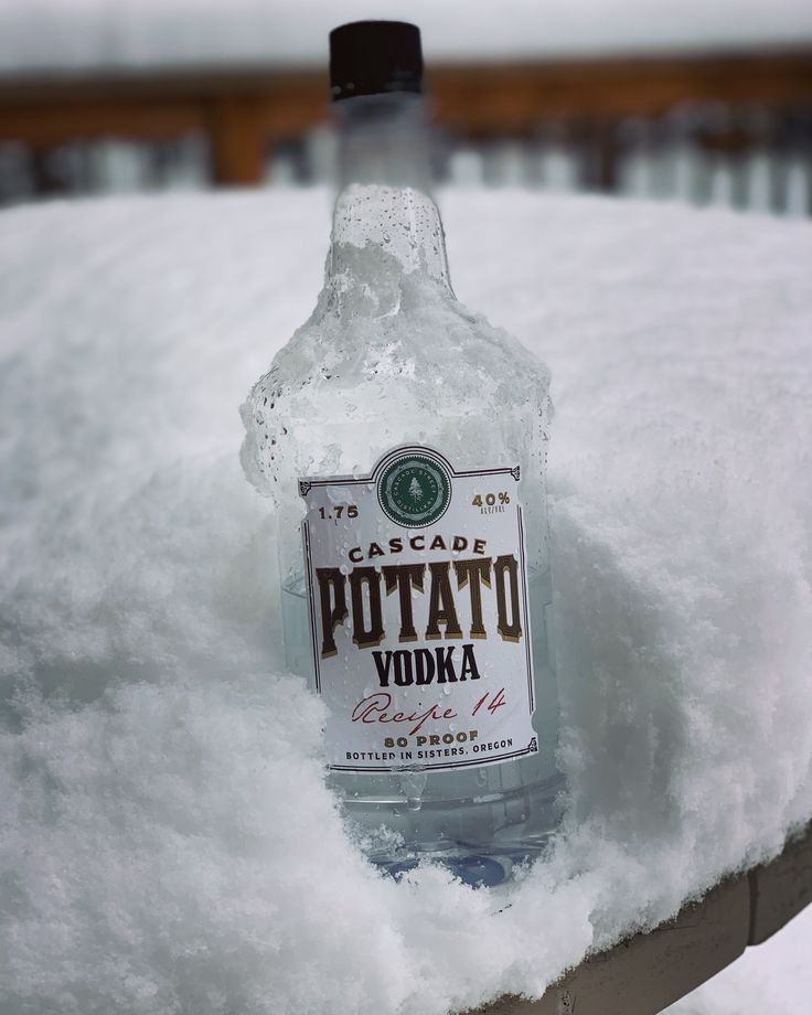 how to make vodka from potatoes