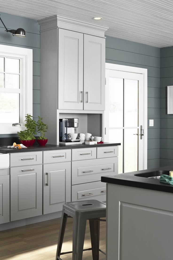 Kitchen cabinetry by Mid Continent.