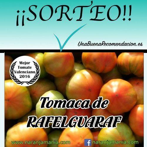 Sorteo 5Kg Tomates Valencianos