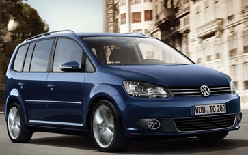 Volkswagen Touran Diesel Estate Car, from only £209.95 + vat per month