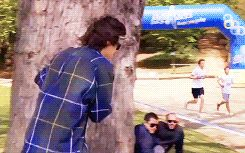 another reason why I love harry styles>> this would probably be me in a marathon