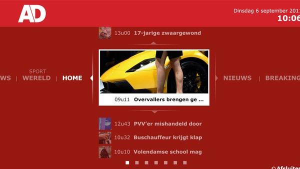 AD.nl Samsung Smart TV app #iptv #smarttv