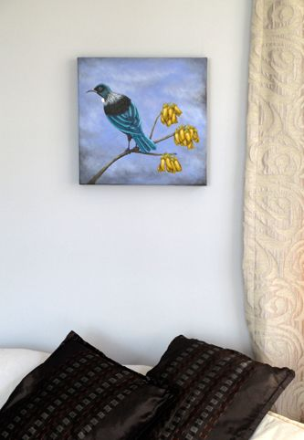 Original artworks of heritage houses, flora and fauna of New Zealand by Artist Gabby Mckenzie Dunedin Otago Art NZ Gabrielle Lestrelle Historic