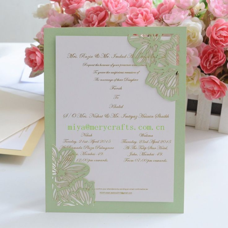wedding invitation mint green%0A Cheap hot birthday cards  Buy Quality invitations birthday card directly  from China birthday card Suppliers  HOT mint green peach laser cut pocket  elegant