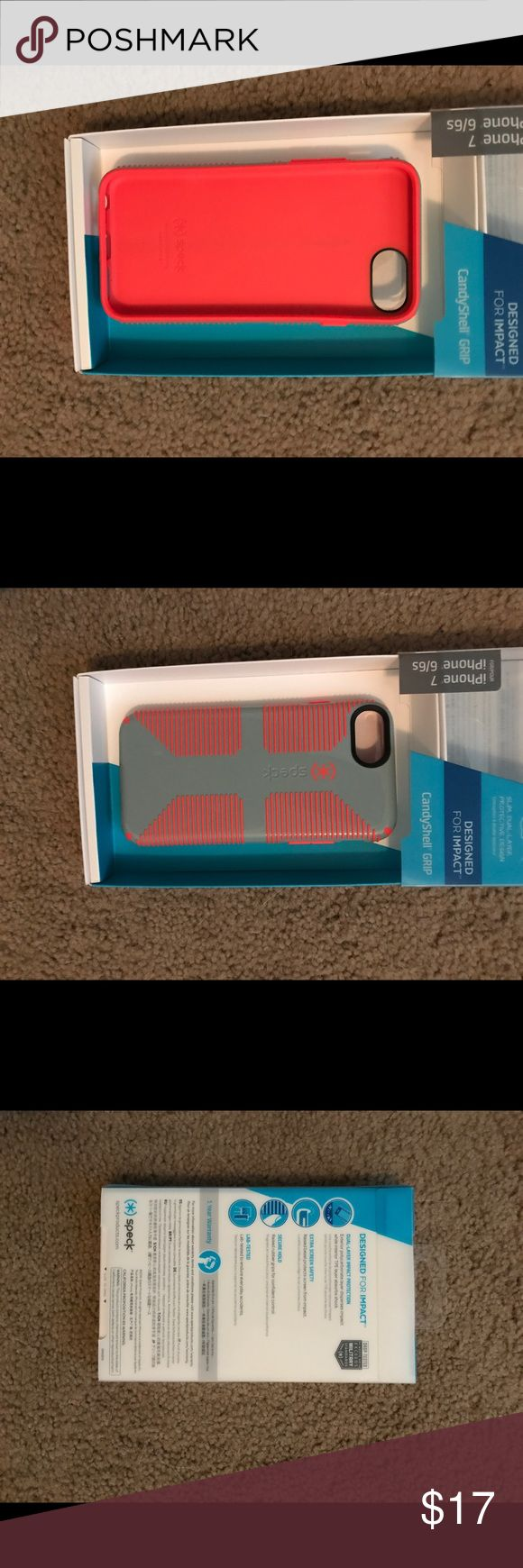iPhone 7 case Speck case. Never used. Still in the box. Coral. Accessories Phone Cases