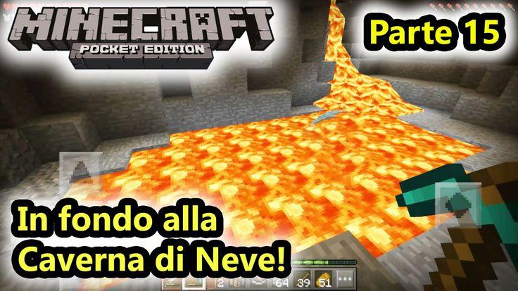 Minecraft PE - In fondo alla Caverna di Neve! - Parte 15 - (Salvo Pimpo's)